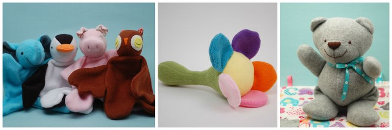 Baby Toys to Sew