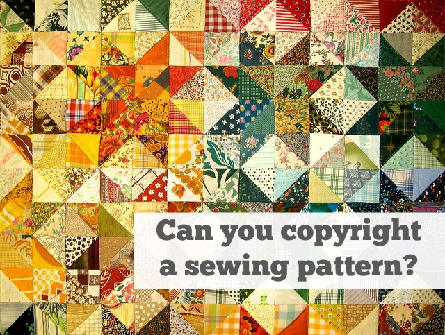 Copyright and Sewing Patterns