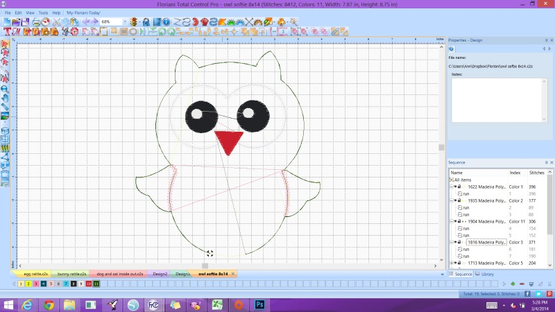 Digitizing the owl