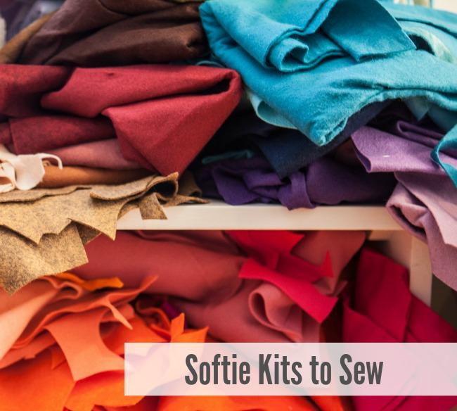 Softie Kits to Sew