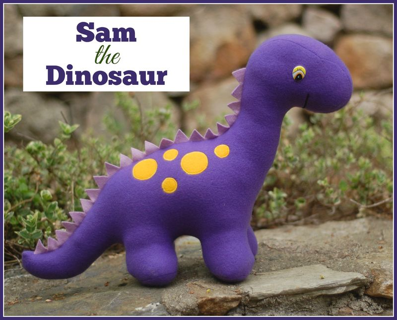 Sam the Dinosaur Cover