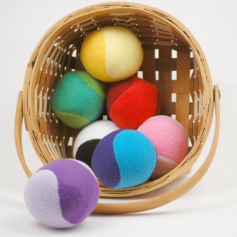 Soft Rattle Balls