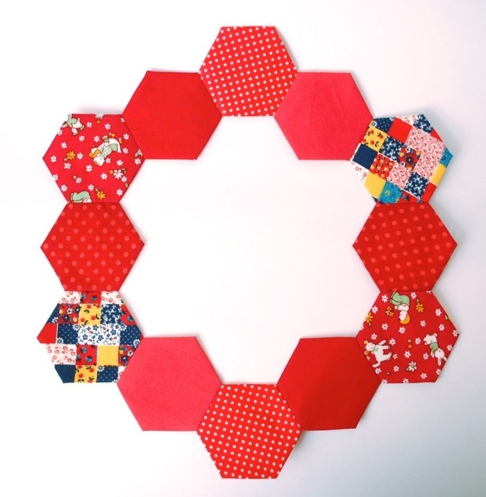 hexies in a ring