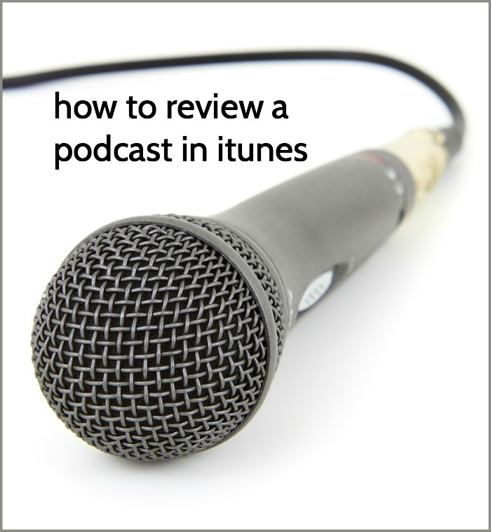 how to review a podcast