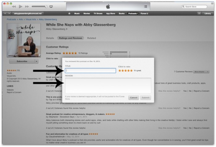 itunes tutorial 5