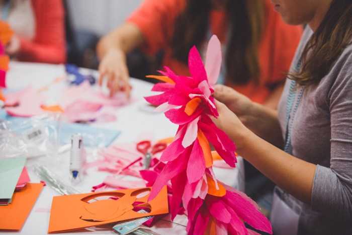 Crafting at Craftcation