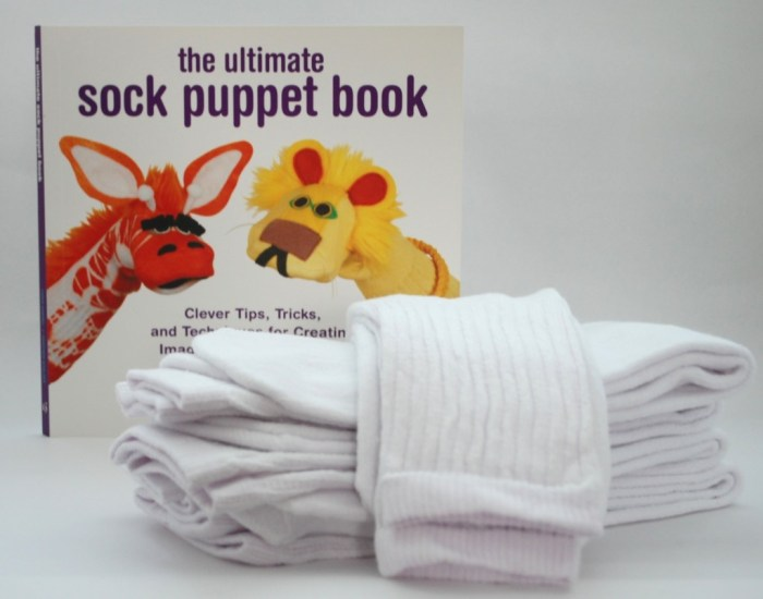 socks and book