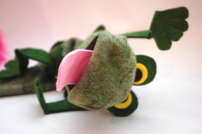 Frog Sock Puppet