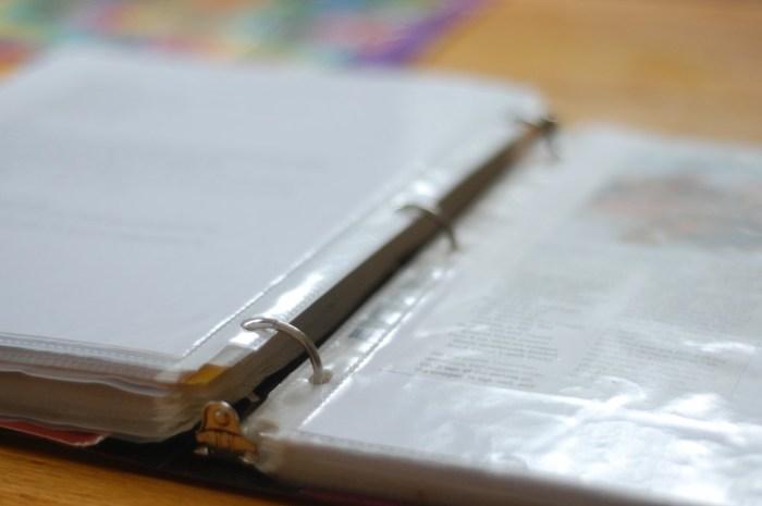 recipe notebook 1