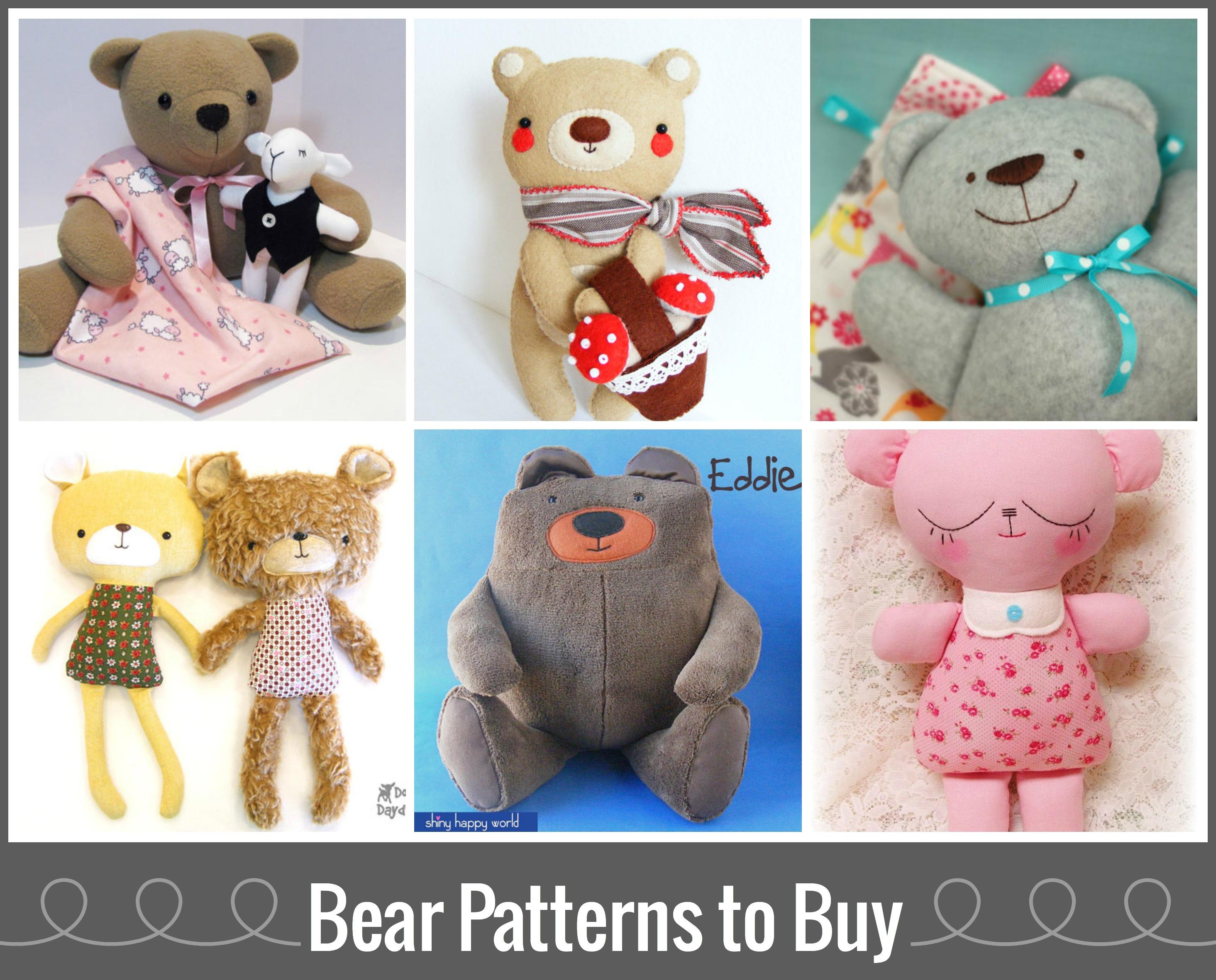 Teddy Bear Sewing Pattern Cool Design Ideas