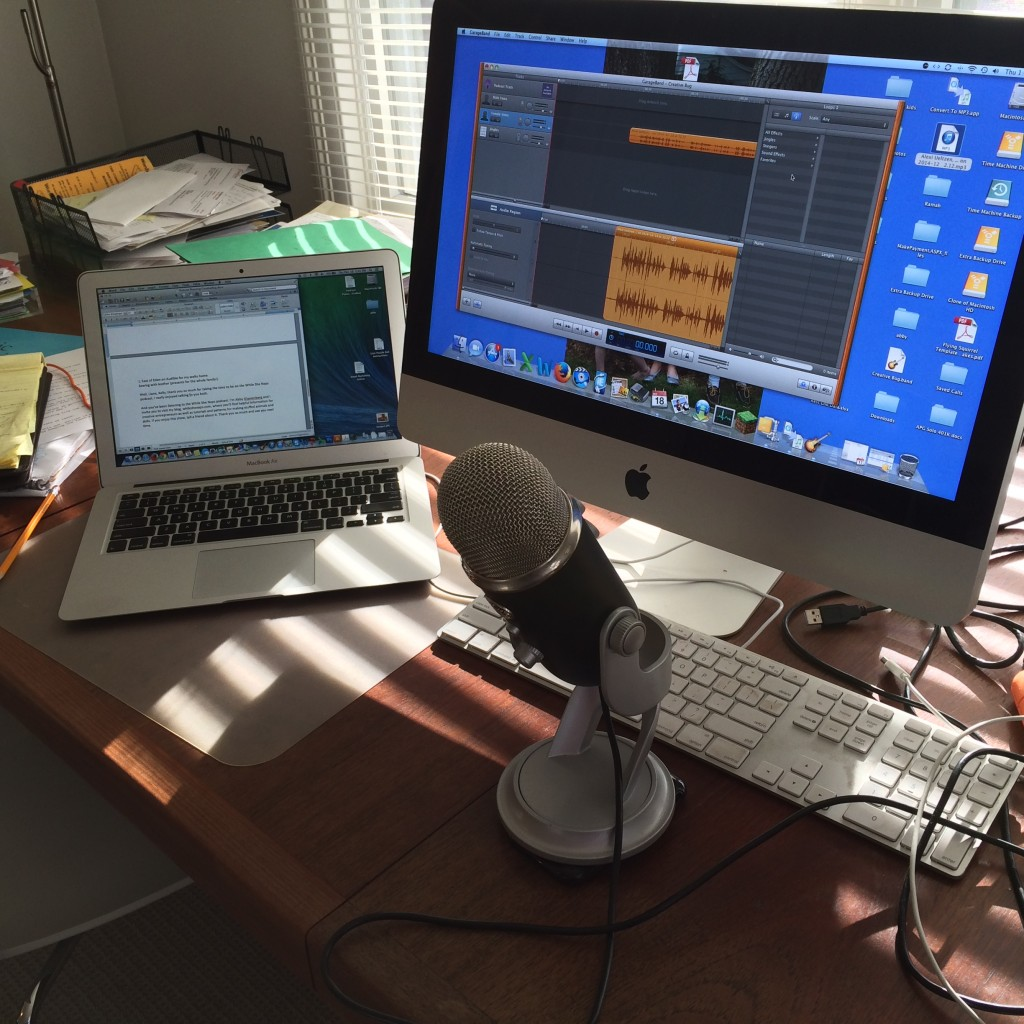 Podcast editing