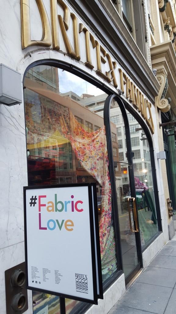 Britex Fabrics in SF