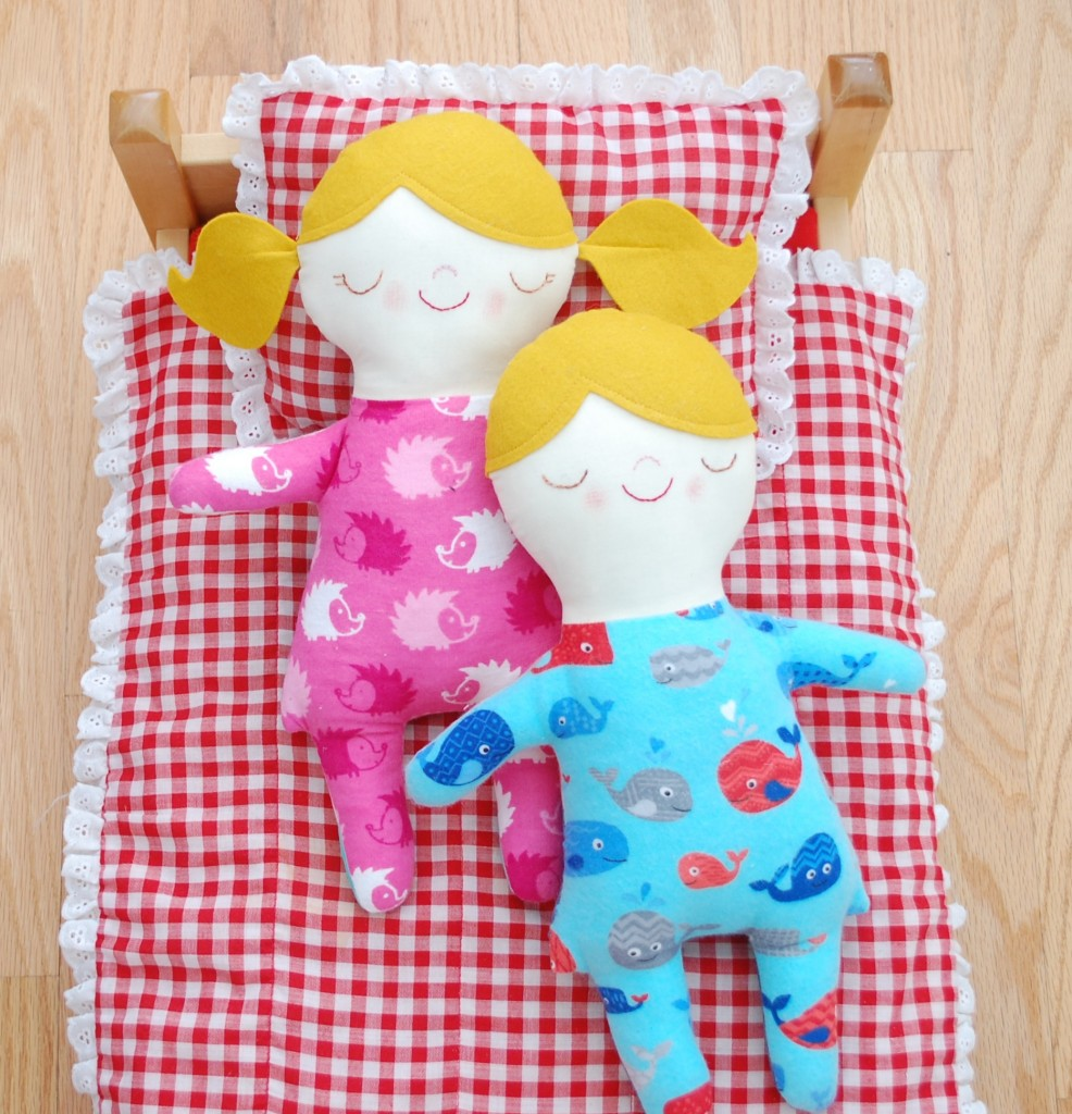 handmade doll sewing pattern