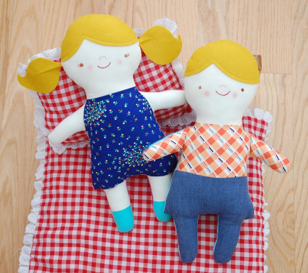 handmade doll sewing pattern
