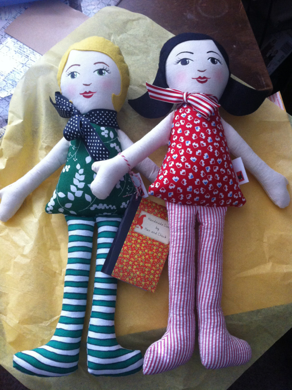 Hen and Chick dolls