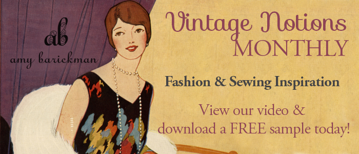 Vintage Notions Monthly