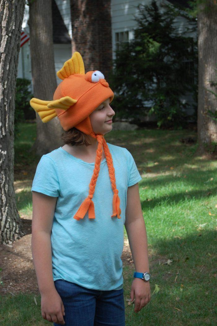 Goldfish Fleece Hat