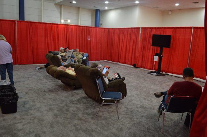 Quilt Festival Husbands' Lounge