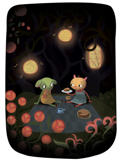 Midnight Picnic by Claire Robertson