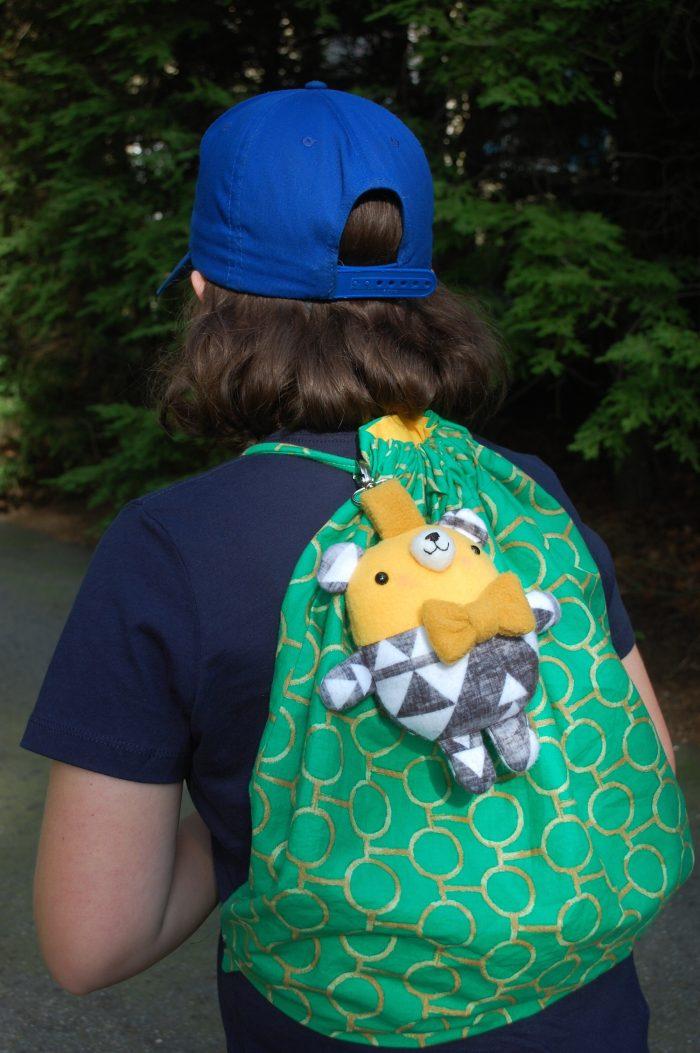 Backpack Bear free sewing tutorial