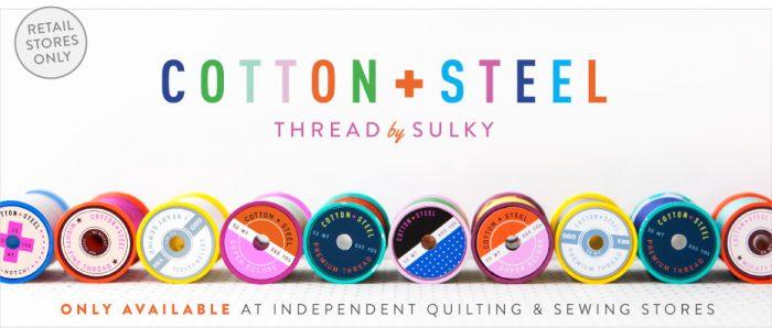 Cotton+Steel Sulky Threads