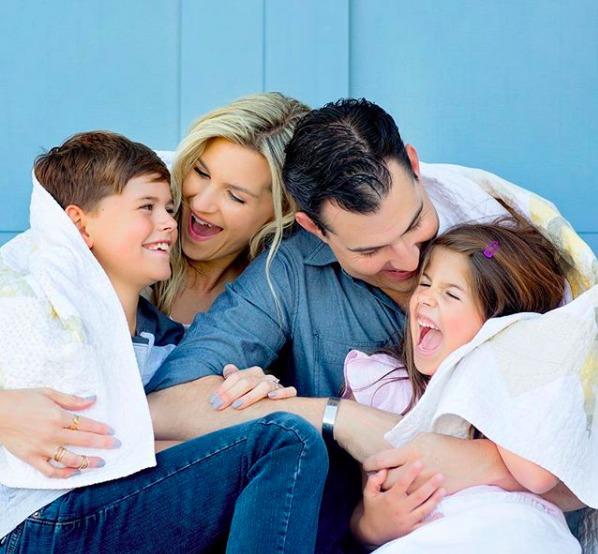 Melanie ham and family