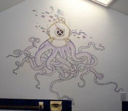 The Octo-Diver in the main bathroom.