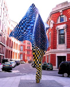 Yinka Shonibare's Wind Sculpture in Howick Place