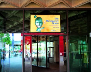 Entrance to the National Theatre on the South Bank
