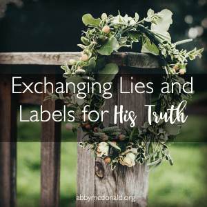 Are We Letting Lies and Labels Hold Us Back?
