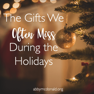 I Don't Want to Miss this Gift During the Holidays…
