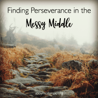 Finding Perseverance to Keep Going When We Reach the Messy Middle