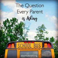 The Question Every Parent Is Asking Right Now