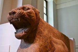 Assyrian lion.