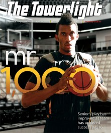 A cover I designed magazine style for a feature on Marcus Damas.