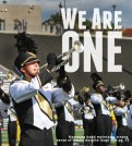 A Towson University Marching Band feature: I followed the band to rehearsals as well as to this, one of the football game halftime performances, to document all the marching band does.