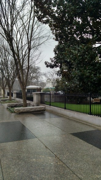 Seeing the White House for the First time!