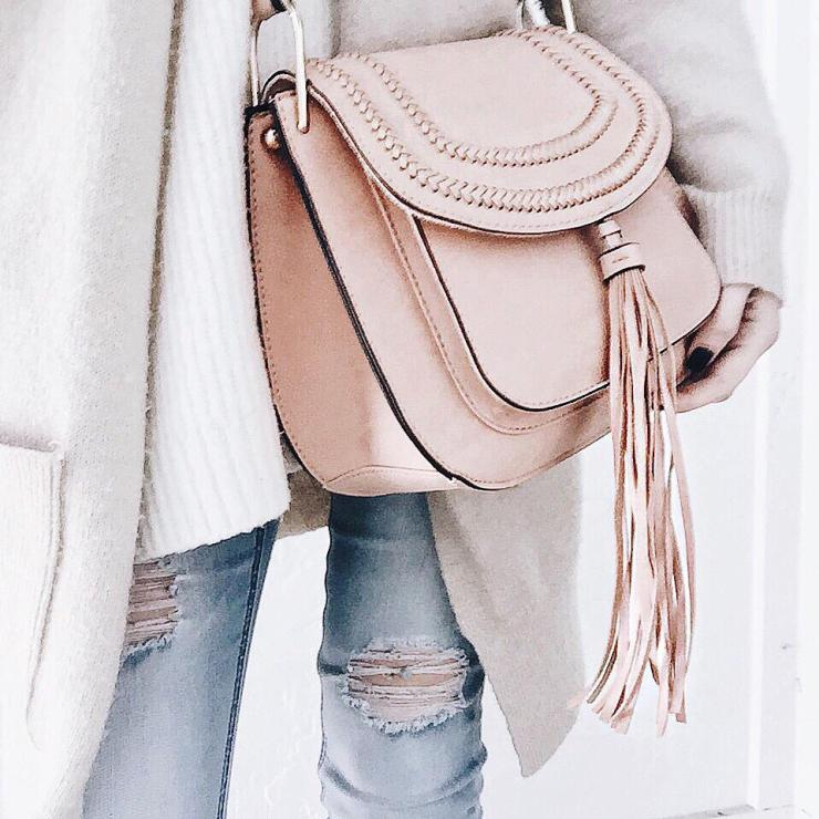 blush franco sarto bag