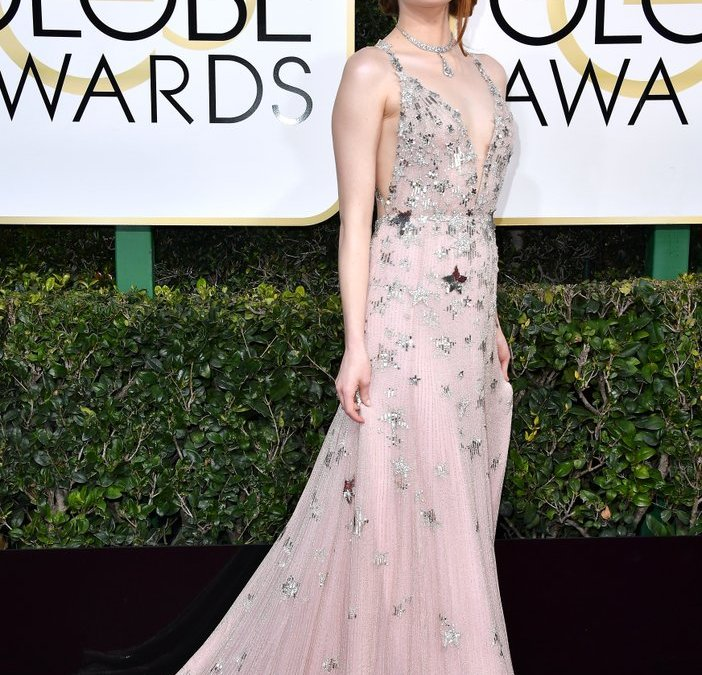 4 spring trends spotted at the Golden Globes and my faves
