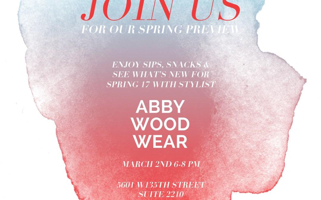 Sneak Peek: Anaphora + Abbywoodwear