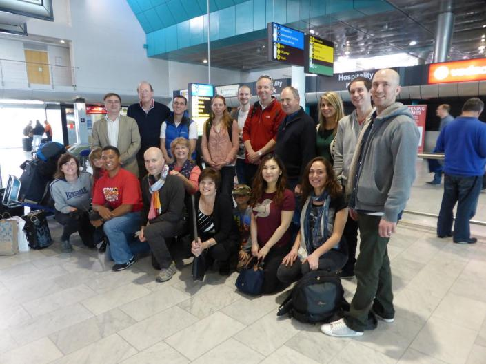 ABC bike and hike challenge - The group heads back home with big smiles after the adventure of a lifetime