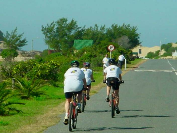ABC bike and hike challenge - It's important to have fun but more importantly to ride on the road safely.