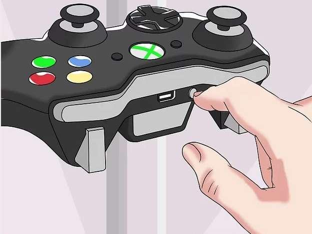 Кнопка синхронизации на геймпаде
