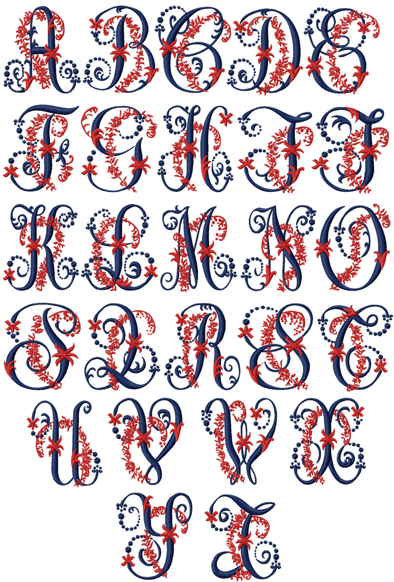 Download EMBROIDERY FONT FOR KID « EMBROIDERY & ORIGAMI