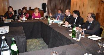 Reunião com representantes de Fundos de Investimentos e Participações. Foto:  Divulgação/ Ascom Cohagra