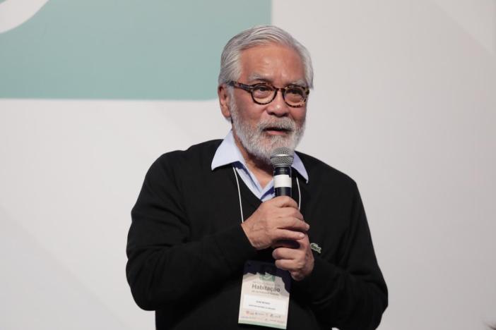 Secretario Nacional da Habitação, Celso Matsuda. Foto: Suelen Bicicgo