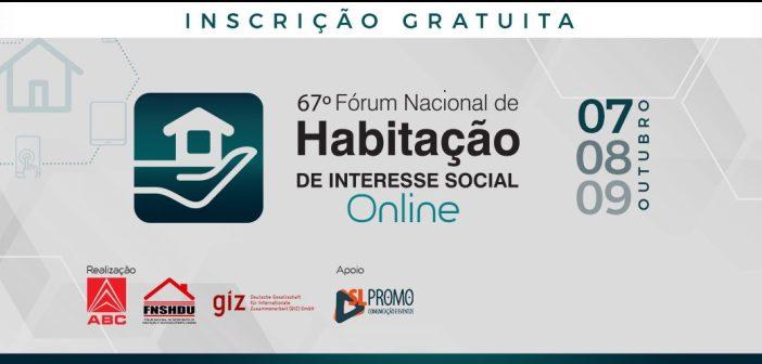 Programação 67º Fórum Nacional de Habitação – ONLINE
