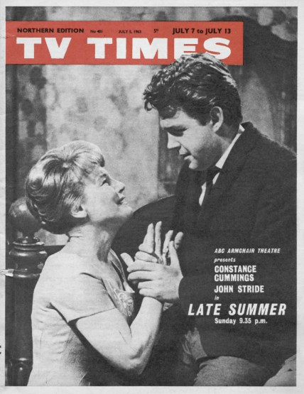 Constance Cummings and John Stride in Late Summer