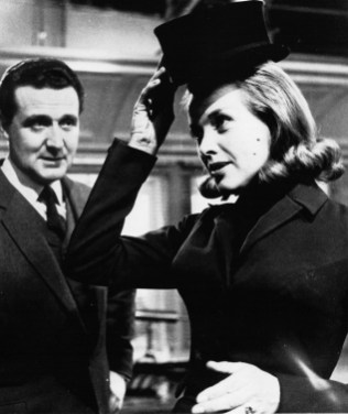 Patrick Macnee and Honor Blackman in 'The Avengers'