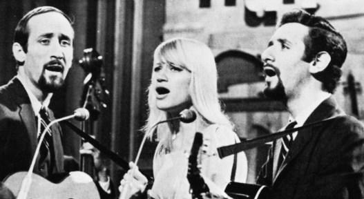 Peter, Paul and Mary on 'Hullabaloo'